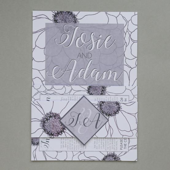 Ada wedding stationery - invitation