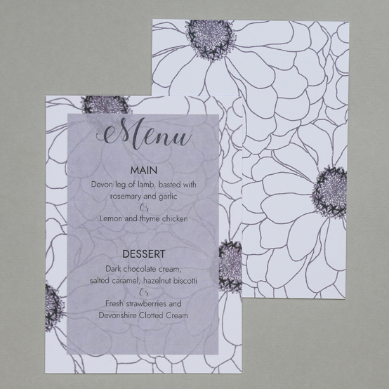 The Ada Wedding Stationery Collection