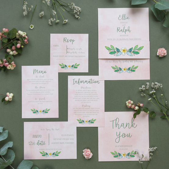 The Alexa Wedding Stationery Collection