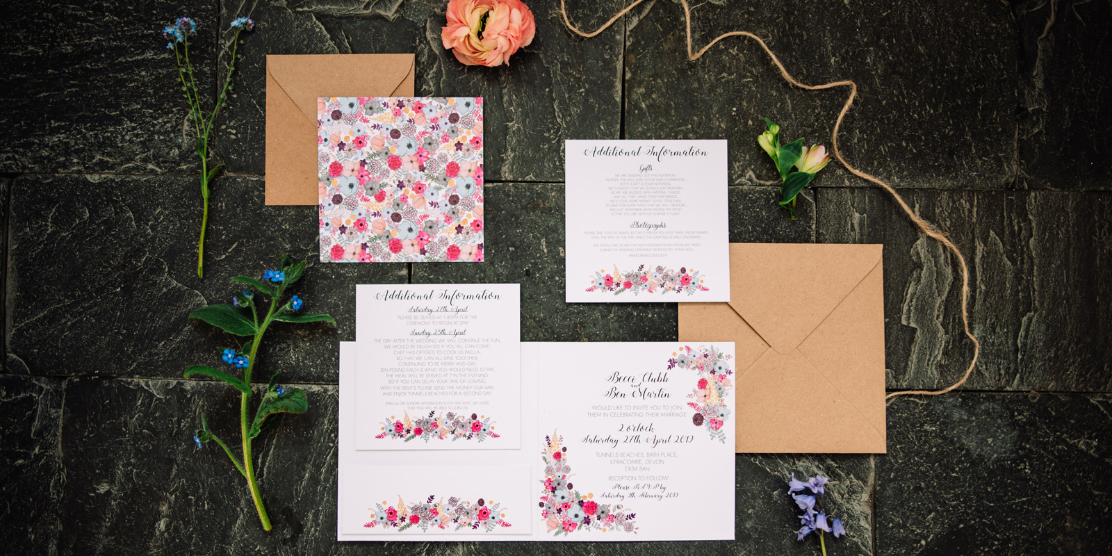 The Alice Wedding Stationery Collection