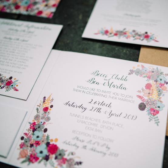 Alice - Luxury wedding invitation