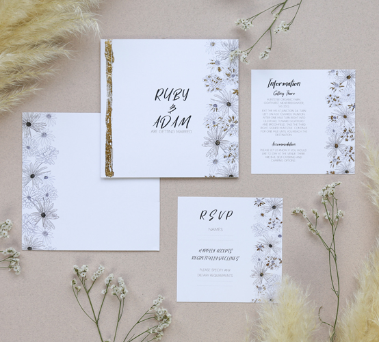 The Alma Wedding Stationery Collection