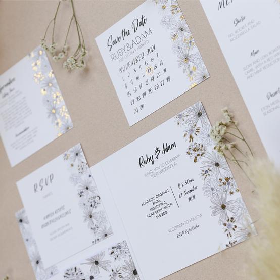 Alma - Luxury wedding stationery suite