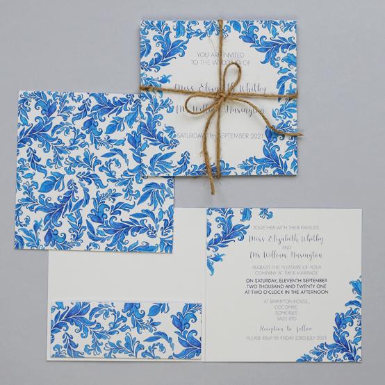 Angela - Luxury wedding invitation