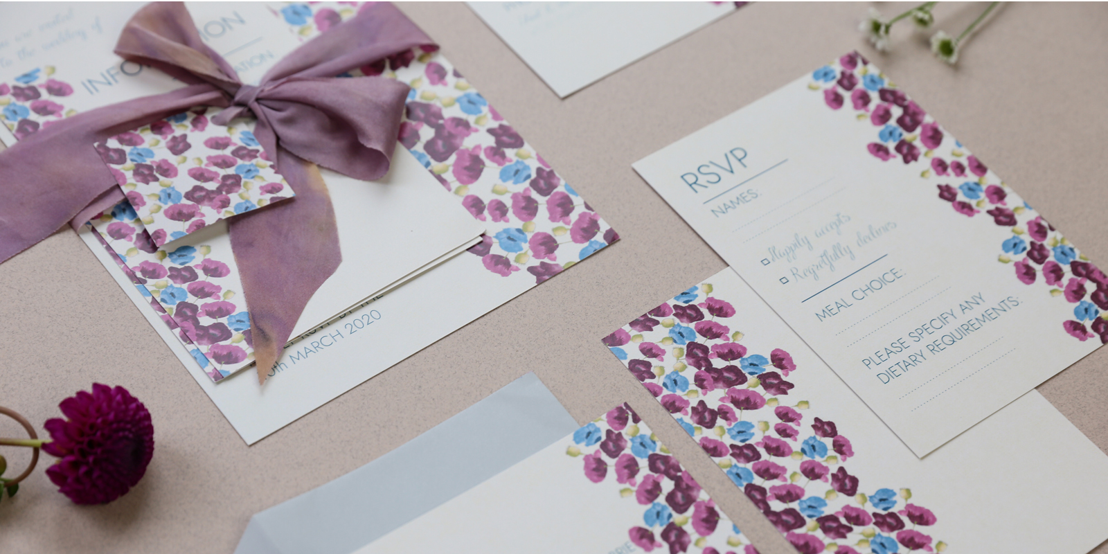 The Arabella Wedding Stationery Collection