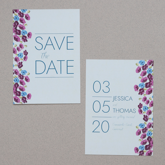 Save the date from the Arabella collection