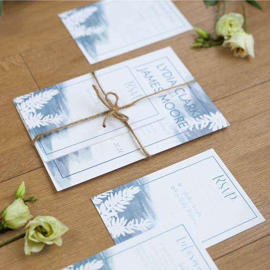 Aurora Wedding Stationery Collection