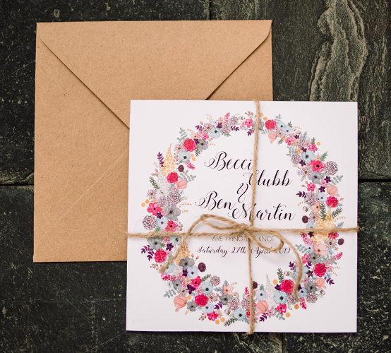 Invitation from The Alice Wedding Stationery Collection